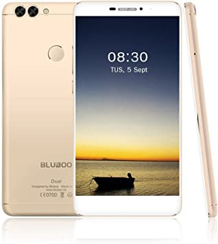 BLUBOO Dual 16GB 5,5 Pulgadas Android 6.0 3000mAh Smartphone ...