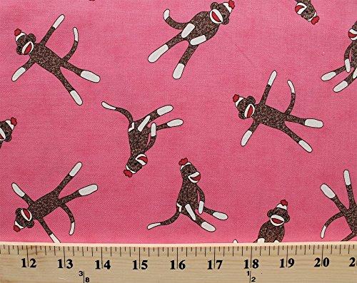 Pink Monkey Print - 8