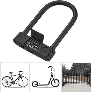 Candado Bici Bicicleta alta Seguridad,U Bloqueo de Bicicleta ...