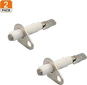 (2 Pack)74009336 Oven Range Stove Burner Spark Ignitor for Whirlpool Replace WP74009336, AP6011124, PS11744318 Range Oven Burner Spark Ignitor Electrode