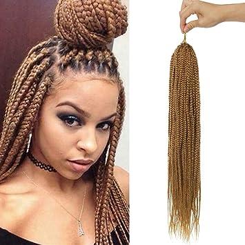Sego Meche Extension Cheveux Pour Tresse Africaine Couleur Rajout Cheveux Synthetique Crochet Braids Extension Afro 26 66cm 1 Lot 85g Marron Clair Amazon Fr Beaute Et Parfum