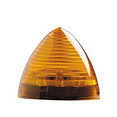 "Maxxima M09105Y 9 LED Amber 2"" Beehive Clearance Marker Light: Automotive"
