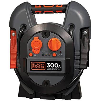 Black+Decker Jump Starter 300 Amp Cargador estación de ...