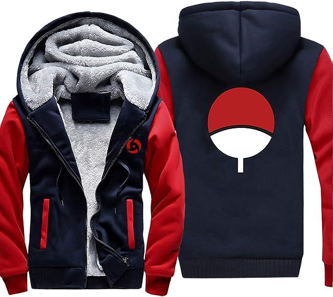Boys Fashion Hoodie Naruto Japanese Anime Cosplay Hokage The Fire Nation Uchiha Itachi Uniform Long Sleeve