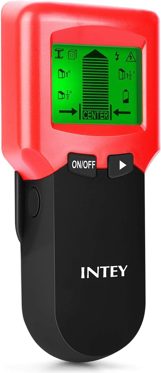 INTEY 3 N1 Detector de Pared, Metal Stud Pinpoint, Madera y AC ...