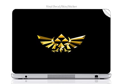 Amazon com: Laptop VINYL DECAL Sticker Skin Print Legend of Zelda