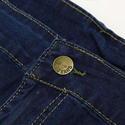 Jeans BYSTE Femme Bleu Noir Fonc Noir arrZdwq