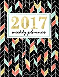 #8: Weekly Planner: Mint, Coral & Gold Weekly & Monthly Planner & Organizer (Creative Journaling & Hand Lettering Series)