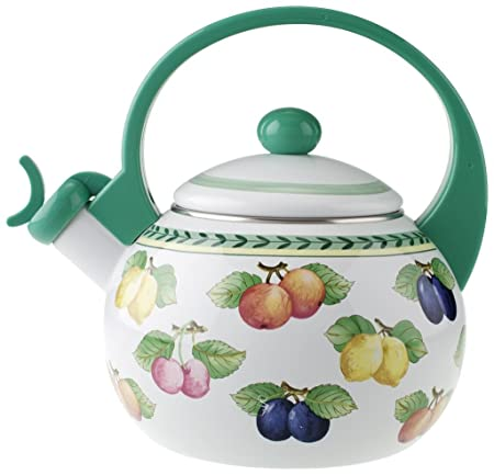 Villeroy Boch 1454807021 French Garden Tea Kettle, 9 Inches, Multi