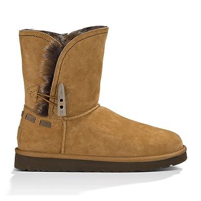 UGG Australia Womens Meadow Boot Chestnut Size 5