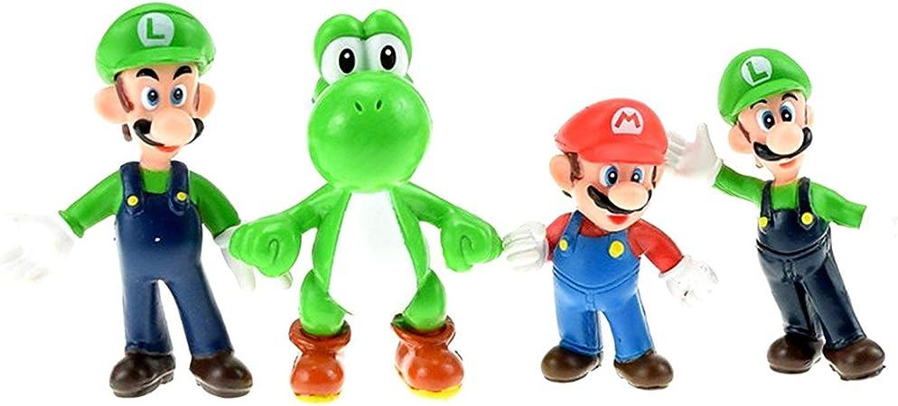 Banpresto Super Mario Bros Colección de 18 Figuras de Diferentes Personajes PVC Alta Calidad: Amazon.es: Juguetes y juegos