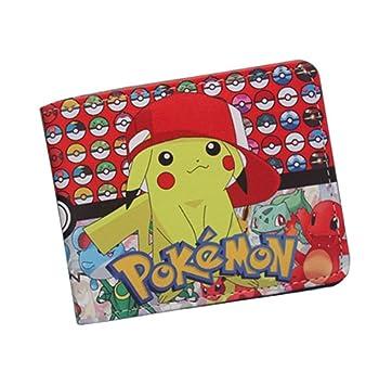 Cartera Billetera de Pokémon Pikachu Gorra Amarillo/Negro: Amazon.es: Equipaje
