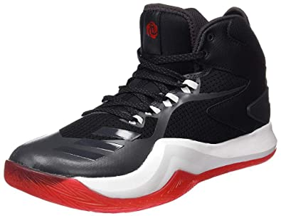 066f65ab6172 adidas D Rose Dominate IV Mens Basketball Sneakers Shoes-Black-10.5