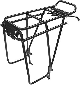Bag & Pannier Racks Black Cycling Tortec Transalp Bike/Cycling Rear Disc Brake Pannier Bag Rack
