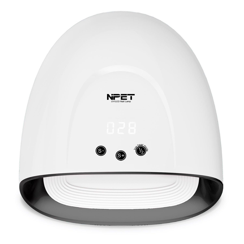 NPET 5 PLUS 48W UV LED Lampe Sèche Ongles Séchoirs à Ongles Nail Lamp - Noir 010 PengXuan E-Commerce Co. Ltd.