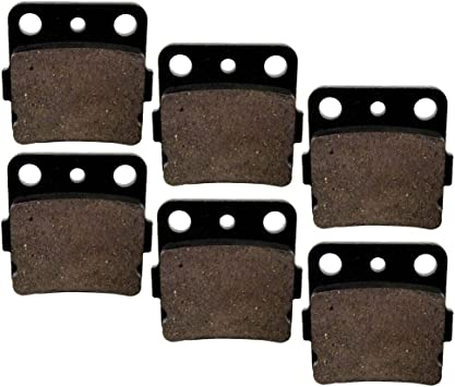 Brake Pads FITS HONDA TRX300EX TRX 300 EX FOURTRAX 1993-2008 Rear Brakes