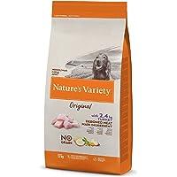 Nature's Variety Original No Grain - Pienso para perros adultos con pavo deshuesado, 12 kg