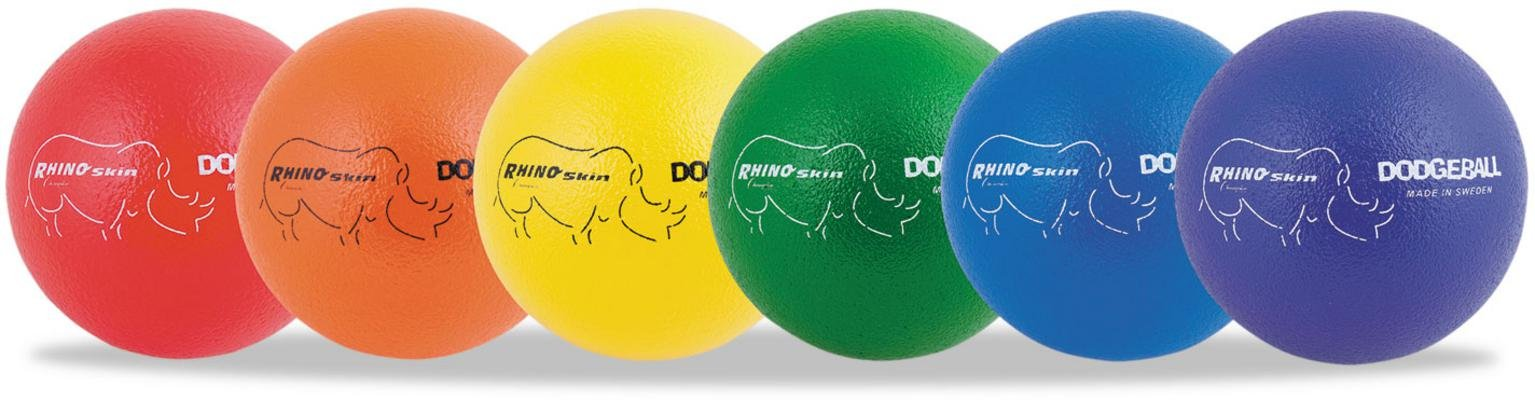 CHAMPION SPORTS 8'' DODGEBALL SET OF 6
