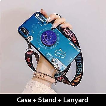 leihao888 Estuche de teléfono BLU-Ray para iPhone X XR XS ...