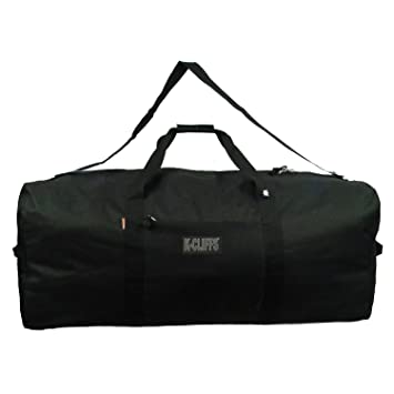 924acd0f7c Amazon.com | Heavy Duty Cargo Duffel Large Sport Gear Drum Set Equipment  Hardware Travel Bag Rooftop Rack Bag (21