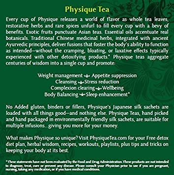 PHYSIQUE salud de té específico tés: Amazon.com: Grocery ...