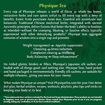 PHYSIQUE salud de té específico tés: Amazon.com: Grocery ...