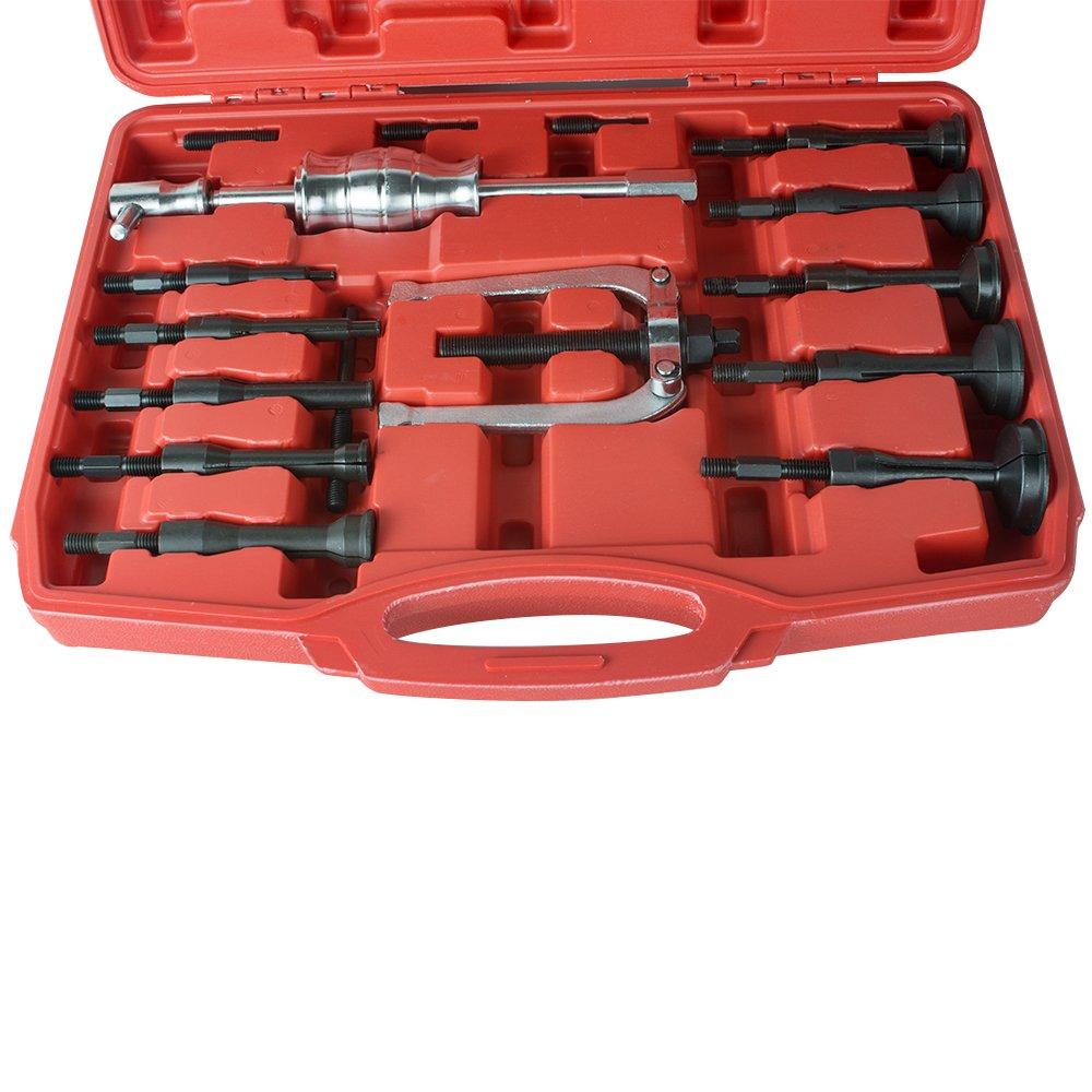 Slide Hammer Bearing Puller Vinmax Universal Car Blind Hole Pilot Internal Extractor Installation Removal Tool Kit