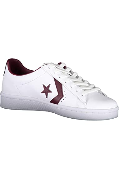 converse pro leather noir and blanche