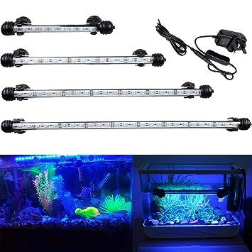 GreenSun LED Lighting Acuario iluminación LED de lámpara Bombilla Lighting para pez Tank D079-B-48: Amazon.es: Productos para mascotas