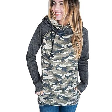 128dbc1f1499f1 Harson Women's Long Sleeve Drawstring Sweatshirt Crewneck Tunic Pullover  Hooded String Hoodie Long Sweatshirt Dress With