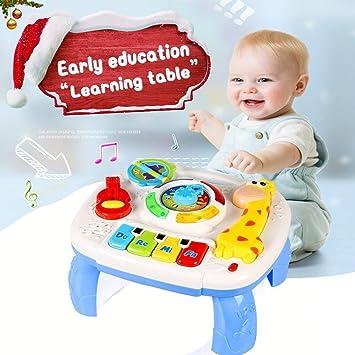 Actrinic Mesa Musical De Estudio Juguete Para Bebes De 6 A 12 Meses