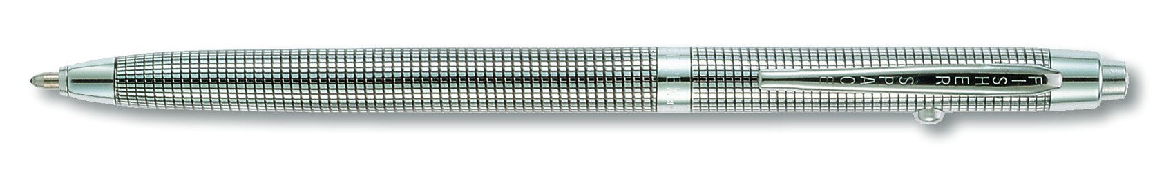 Fisher Space Black Grid Design Shuttle Space Pen (B4)