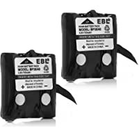 EBL BP-38 Two-Way Radio Batteries 4.8V 700mAh Replacement Battery for Uniden BP-38 BP-39 BT-1013 BT-537 BP-40 FRS-008 (2…