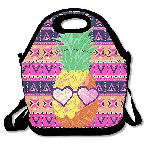 Gukgclm Heart Suglasses Pineapple Lunch Bag - Suglasses