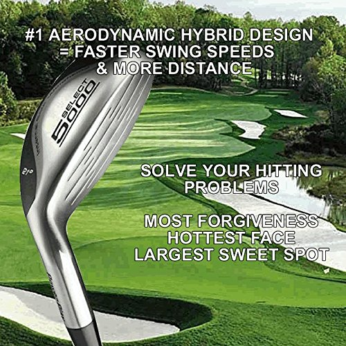 #1 Driving One Iron Wood Hybrid Long Driver Illegal Distance Custom Golf Club With PGA ()
