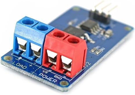 VS – MOSFET DC ventilador, motor, Single Color LED Strip conductor ...