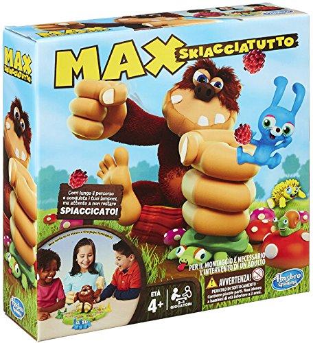 31 opinioni per Hasbro- Max Skiacciatutto Gioco da Tavolo