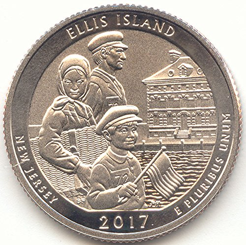 2017 S Washington Enhanced Uncirculated Ellis Island, Statue of Liberty National Monument (New Jersey) Quarter Uncirculated