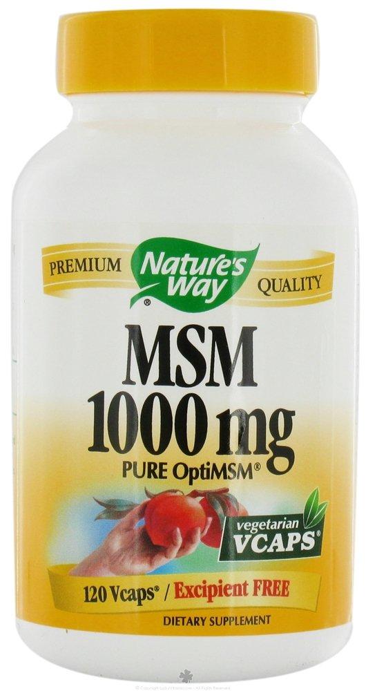 Nature's Way Msm 1000 Mg Veggie Caps 120 Caps ( Multi-Pack)