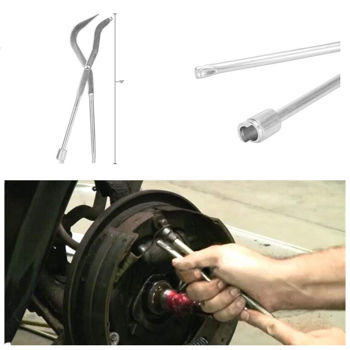 BEEAUTO 1X Brake Spring Plier Car Repair Brake Plier Garage Workshop Professional Tools