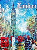 London England Big Ben Europe European Vintage Travel Advertisement Art Poster