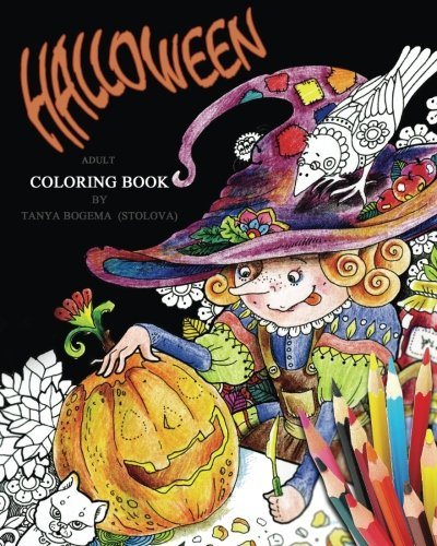 Halloween!: Adult Coloring -