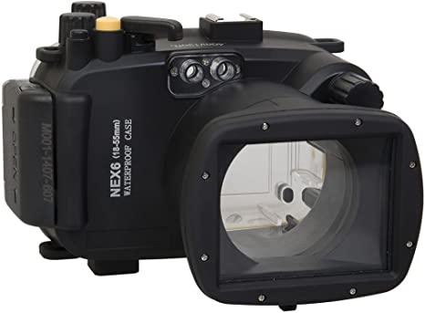 Polaroid Carcasa submarina sumergible apta para buceo SLR para la ...