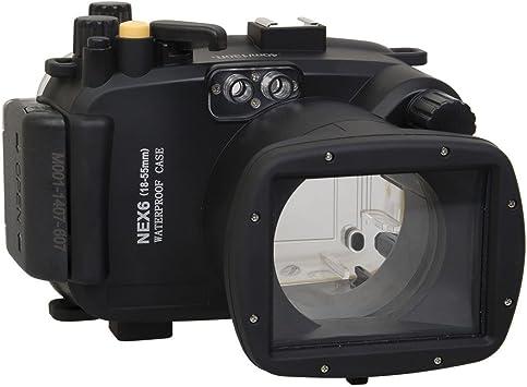 Polaroid Carcasa submarina sumergible apta para buceo SLR para ...