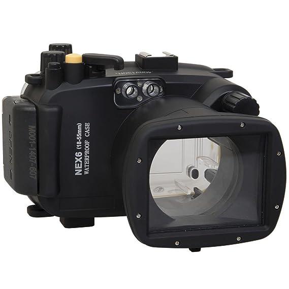 Polaroid Carcasa submarina sumergible apta para buceo SLR ...