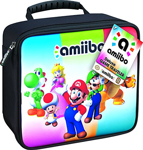 Traveler Industries Game (RDS Industries, Nintendo Amiibo Game Traveler Carrying Case - Multi-Color)