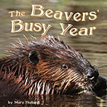 The Beavers' Busy Year Audiobook by Mary Holland Narrated by Donna German