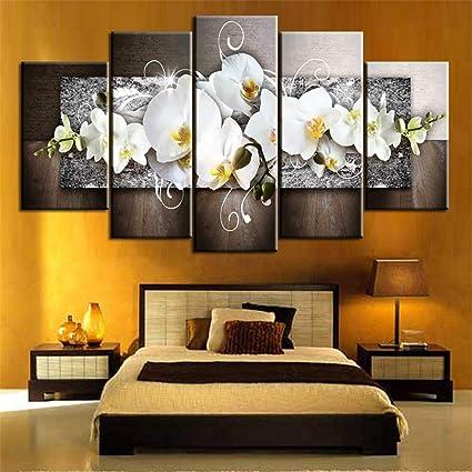 Amazon.com: Todens 5pcs Wall Art Painting Decor Canvas ...
