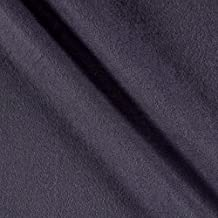 Telio Eco Organic Cotton Hemp Fleece Charcoal Fabric By The Yard