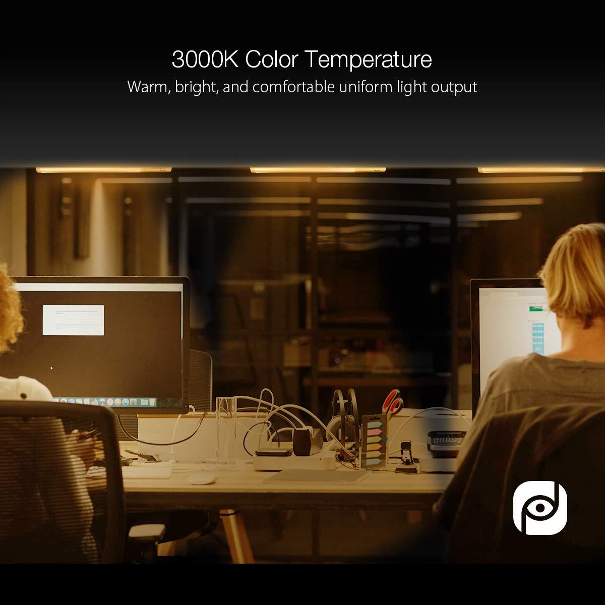 3000K, Blanc Chaud Pour Garde Robe Lampe De Cabinet Collez Le Ruban Magique  Escaliers Et Cuisine ...
